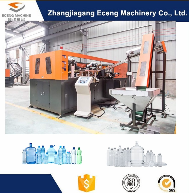 32KW Fully Automatic Blow Moulding Machine , Pet Blowing Machine For Plastic Bottle