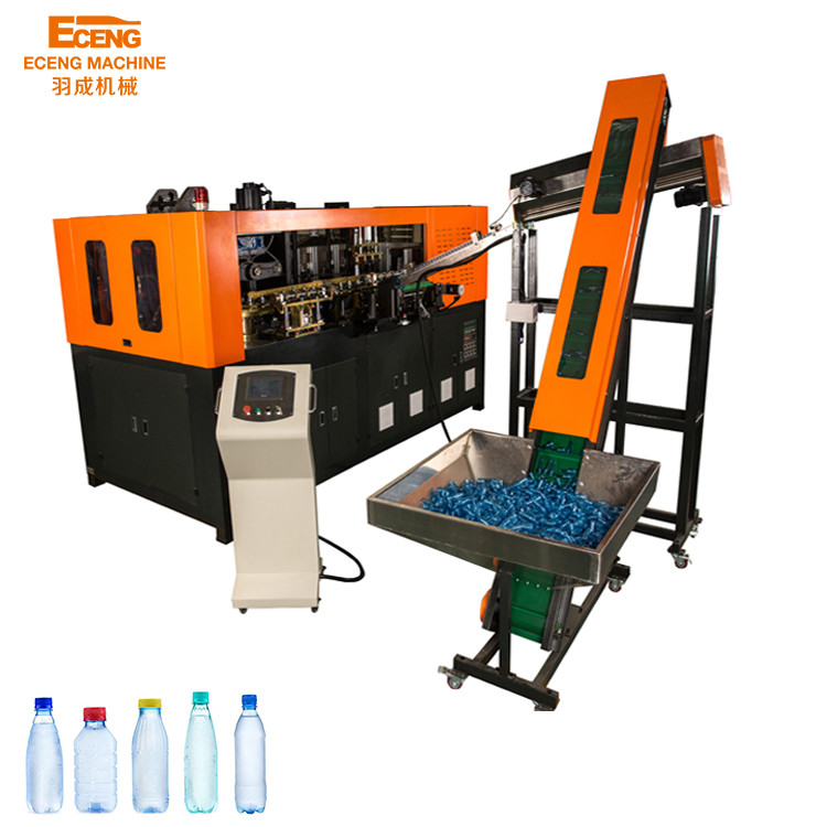 2 Cavity Full Automatic Plastic Bottle Blowing Machine For 1.5L Pet Water Bottle